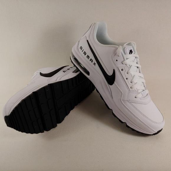 41bafb7a349f Nike Air Max LTD 3 White Black Leather Running